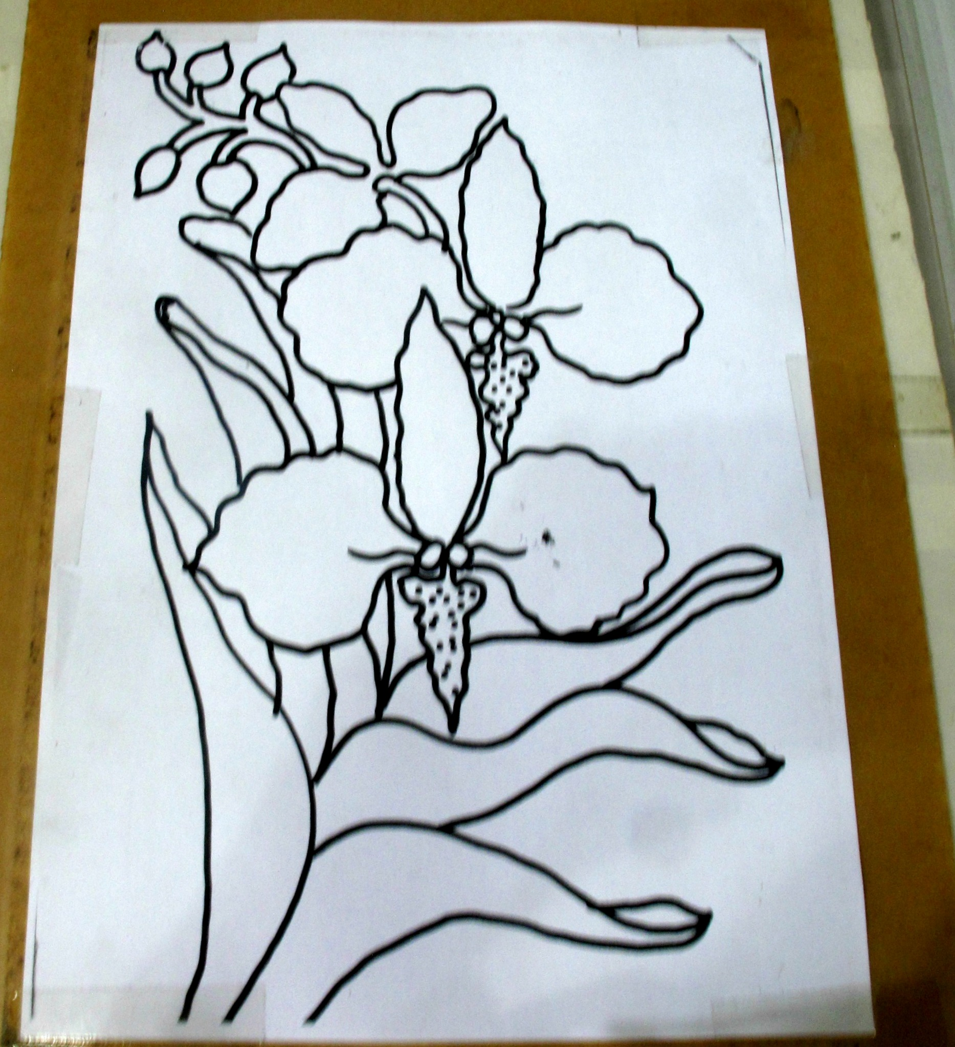 Paling Inspiratif Easy Flower Batik Painting
