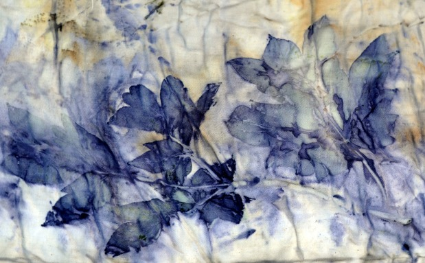 Natural Dyeing Peony Obovate Designs
